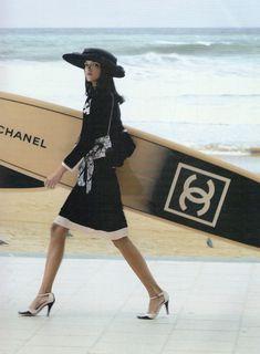 Mariacarla Boscono, Chanel Spring 2003 Campaign