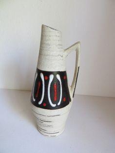 Vintage Scheurich Heinz Siery vase by kunstmus on Etsy, €32.00