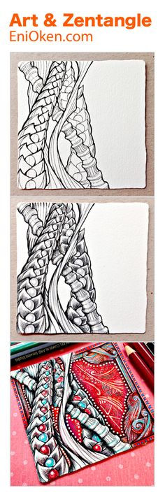 Learn to create unbelievable Zentangle®️ art • enioken.com