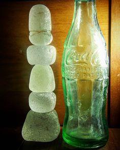 """""""#シーグラス#seaglass#big #コーラ#cola#bottles"""""""