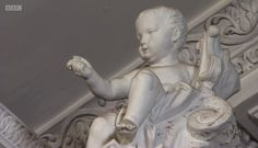 Plaster Cherub in the Chapel at Stoneleigh