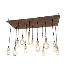 This is one bright idea: 12 Edison bulbs shine the light on your home together.
