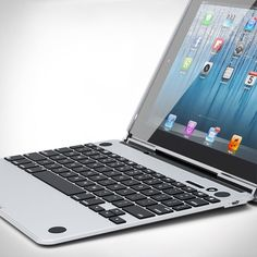 CruxSKUNK™ is the thinnest iPad keyboard case in the world. With a base that's only 6mm thin, there's nothing else like it. The CruxSKUNK™ is machined out of airplane grade aluminum (6061) and then anodized to give it the same fit and finish as the Macbook Air®. Available now for pre-order