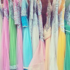 pick designer & colorful gown for the fashion statement
