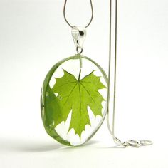Irregular First Maple Leaf Pendant by sisicata on Etsy, $45.00