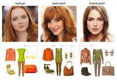 Neighboring color types: Warm Spring / Warm Autumn / Soft Autumn