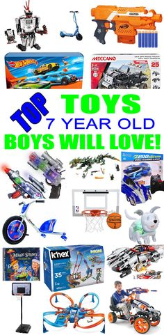 Best Toys For 7 Year Old Boys
