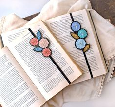Bookmark Set Great Gift for Teacher or Book Lover by LoveMaude