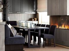 Get Inspired By These Dark Dining Room Décor Ideas!
