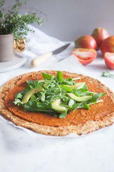 Best Vegan Cauliflower Pizza - Gluten Free