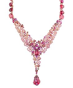 Collier Chaumet, collection haute joaillerie Hortensia - 2
