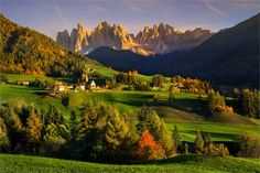 """Tales of Dolomites - fabulous evening"" by Alexander Kitsenko on 500px"