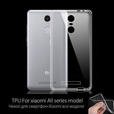 Xiaomi Redmi Note 2 pro 3 Caso Della Copertura Ultrasottile Trasparente TPU Morbido copertura Custodia protettiva Per Xiaomi Mi5 Mi4 4C Mi3 Redmi 3 3 S