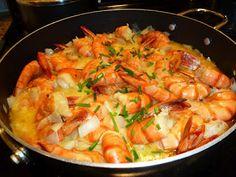 Receitas 101: Camarão com molho de mostarda
