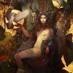 La Morrigan, fée, magicienne, guérisseuse et druidesse de Bretagne