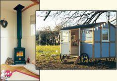 Shepherd's hut on wheels