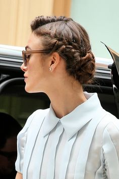Keira Knightley's beautiful hairstyle
