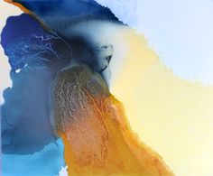 Julie Corbet Kundalini mixed media on canvas 100 x 120 cm