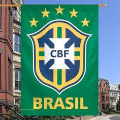 Brazil WinCraft 28   x 40   Two-Sided Banner 9337bc3f9ef79