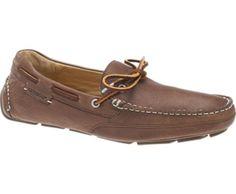 SEBAGO - Kedge Tie Moccason - Horween Bison Leather Upper