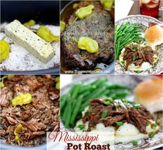 The Most Popular crock pot (slow cooker) recipes on Pinterest! 45 simple and easy-to-follow crock pot recipes and desserts!