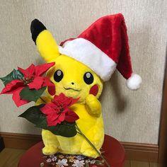 クリスマス特集 今日はクリスマスイブ ピカチュウもサンタ帽子をかぶって準備ばんたん #pikachu_Christmas #pikachu #pokemon #ピカチュウ #ポケモン #pikachu_snap #Christmas #pikachu #pokemon #pokemongo #pikachulover #pokemontrainer #pkmn #pokeball #pokemonsunandmoon #kawaii #pokemony