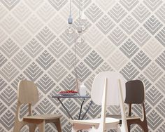 Hey, I found this really awesome Etsy listing at https://www.etsy.com/il-en/listing/229797368/geometric-wall-stencil-large-wall