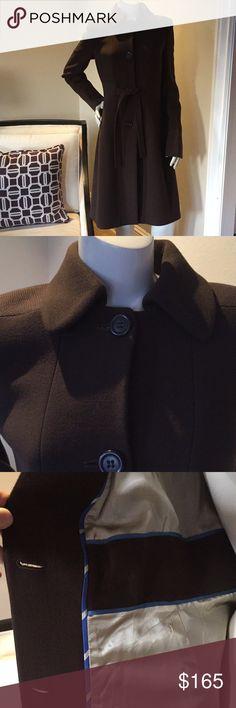 J. Crew Italian Double Cloth Lady Day Coat Fully lined J. Crew Jackets & Coats Trench Coats