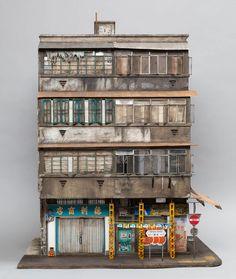 Los edificios urbanos en miniatura de Joshua Smith