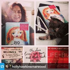Lovely, my dear @hollyhawkinsmarwood! #2015workbook ・・・362/365 Grateful to be making my way through this GEM of a planning guide! Thanks @leonie_dawson! Year #2 of the workbook for me and it is going to be my BEST YEAR EVER! #leoniedawson #createyourshiningyear #2015 #soulgenesis #akashicrecords