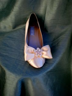 Ivory Ballet Flats Wedding Flats  Pearl Flats by TheCrystalSlipper, $120.00