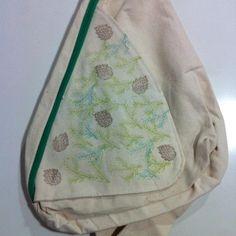 mochila con sellos yow, para cintia