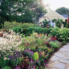 Ideas for flower garden