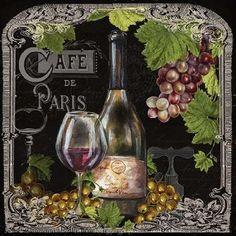 Feeling at home, Stampa artistica x cornice - quadro, fine art print, Cafe de…