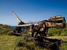 Panoramio - Photo of Remnants of the HARP gun designed by Canadian ...