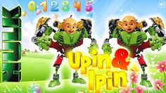 UPIN IPIN Cartoon Terbaru Transform Into LEGO HULK Finger Family Nursery...
