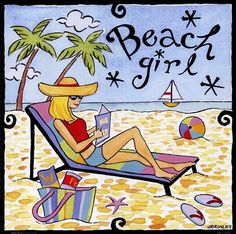 I am a beach girl