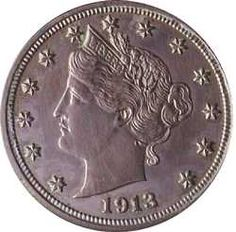 Officially, the U.S. Mint stopped making Liberty head nickels in 1912. But by accident or design someone at the Philadelphia mint struck at least five nickels dated 1913—and created an instant collector's item. The former owners of this particular 1913 Liberty head nickel, given to the Smithsonian in 1977, include King Farouk of Egypt, an avid coin collector. The coin's history, including the distinguished numismatists who owned it, add to its value.