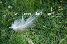 Less is more ~ <3 ~