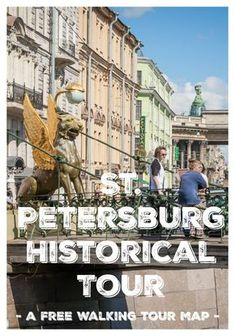 Spread this walk around St Petersburg Russia over a few days and enjoy the wonderful sights of this colorful city. Free walking tour map and guide.
