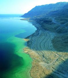 The Dead Sea.