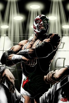 "Search Results for ""wallpapers dr wagner jr"" – Adorable Wallpapers Dr Wagner, Rey Mysterio 619, Mexican Wrestler, Old Scool, Aztec Warrior, Lucha Underground, Disney Drawings, Anime Comics, Character Illustration"