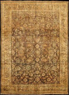 "KEIVAN WOVEN ARTS,   Type :Malayer Origin :Iran  Size : 8'10""x11'10""  Circa :1930"