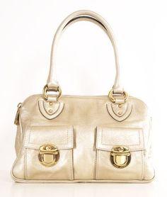 Metallic Gold Handbag.