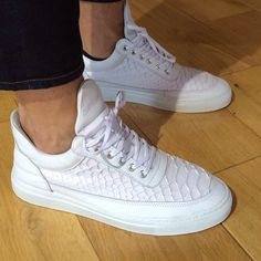 Just arrived Filling Pieces Lowtop  Python White  210£ #style #streetwear #sneakers #sneakernews #thedropdate #fillingpieces www.netclothing.net