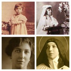 St. Teresa of the Andes. First Chilean Saint. - photos of her childhood, First Communion, as a young woman and as a nun