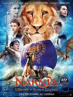 Le Monde de Narnia : L'Odyssée du Passeur d'aurore est un film de Michael Apted avec Georgie Henley, Skandar Keynes. Synopsis : Happés à l'intérieur d'un intriguant tableau, Edmund et Lucy Pevensie, ainsi que leur détestable cousin Eustache, se retrouvent subitement projetés da