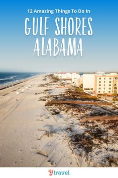 Planning to visit Gulf Shores? Here are 12 amazing things to do in Gulf Shores and Orange Beach Alabama, including tips on best restaurants and local food options, and hotels, rentals and where to stay. Don't visit Alabama on your beach vacation with kids until you read this Gulf Shores travel guide! #GulfShores #Alabama #OrangeBeach #travel #vacation #beachvacation #familytravel