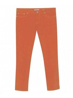 Five Pocket Coral Colored Jeans $42