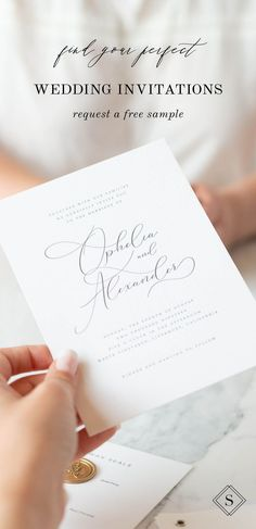 Receive a free wedding invitation sample and experience our stunning design and high quality cardstock in person! Free Wedding Invitation Samples, Shine Wedding Invitations, Wedding Invitation Design, Wedding Stationery, Planning A Small Wedding, Creative Wedding Gifts, Wedding Reception Music, Simple Weddings, White Weddings